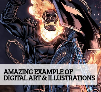 Post thumbnail of 25 Amazing Digital Art & Illustrations for Graphic Designers