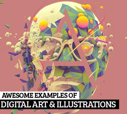 30 Awesome Examples of Digital Art Illustrations for Inspiration