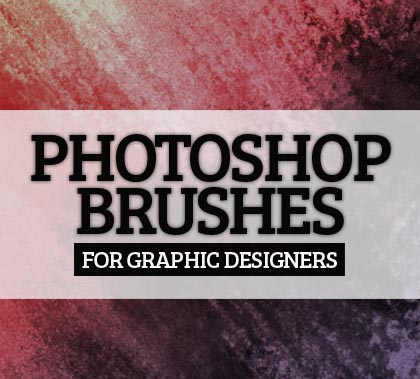 25 Photoshop Brushes Sets For Graphic Designers