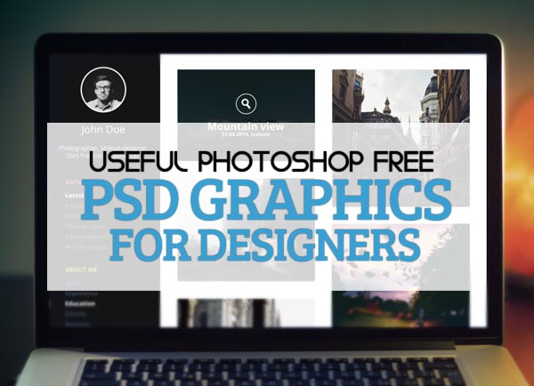 25 Best Useful Free PSD Files for Graphic Designers