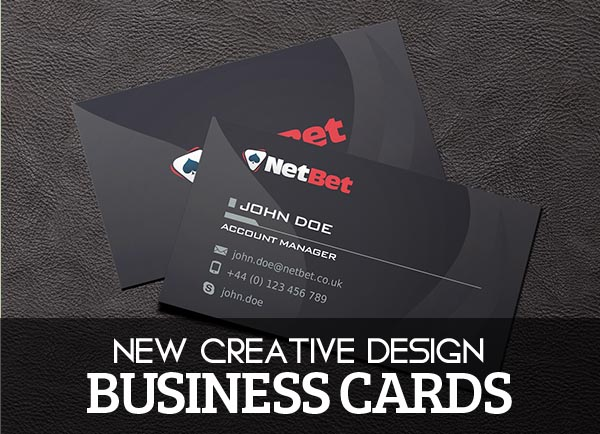 15 Best Modern Business Cards For Graphic Designs Inspiration