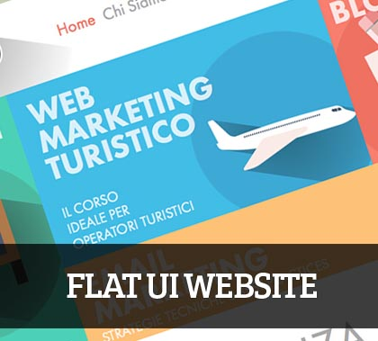 Flat UI Website Design – 25 Example For Inspiration