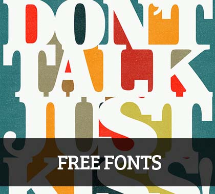 15+ Latest Free Fonts for Graphic Designers
