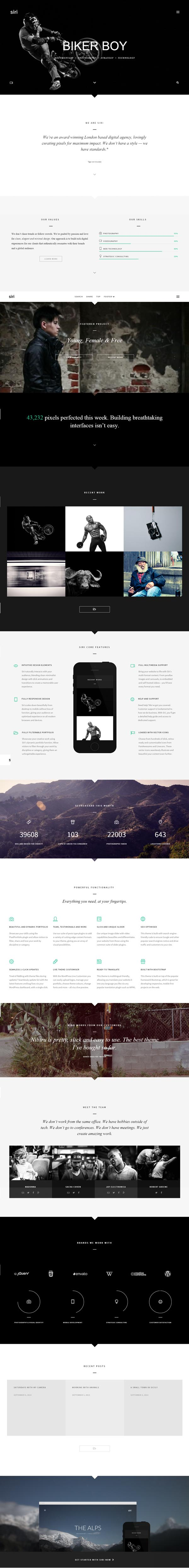 Siri – Multi-Purpose Responsive WordPress Theme