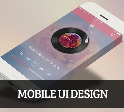 Mobile UI design for Inspiration – 34