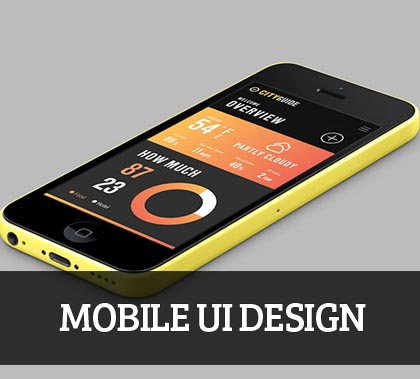 Mobile UI design for Inspiration – 35