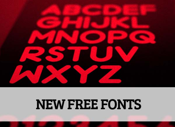 20 Amazing High Quality Free Fonts for Designers