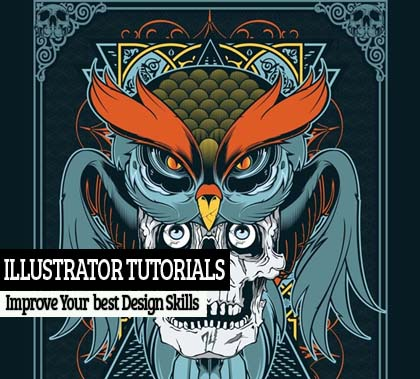 25 Amazing Illustrator Photoshop Tutorials – Improve Your Design Skills