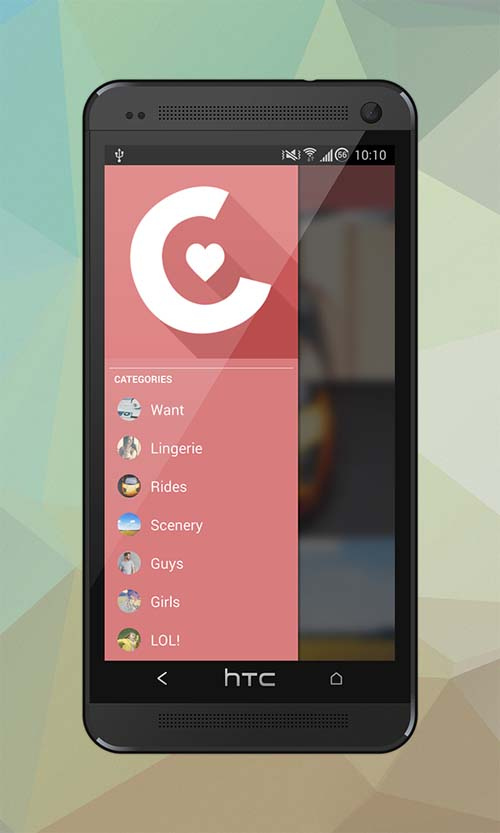 Collect UI Designs (Photo Collecting App)