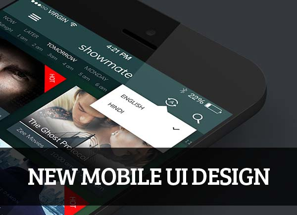 Mobile UI design for Inspiration - 38