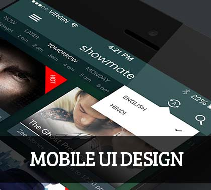Mobile UI design for Inspiration – 38