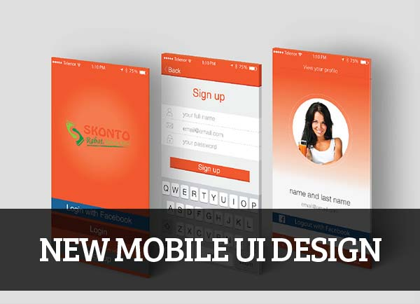 Mobile UI design for Inspiration – 37