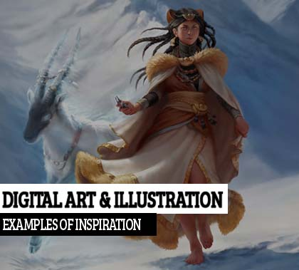 35 Creative Digital Art and Illustration Examples of Inspiration