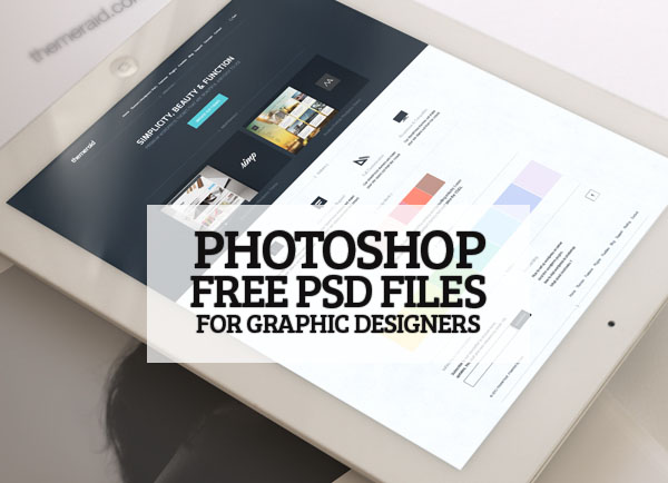 25 High Quality Free Photoshop PSD Files For Designers