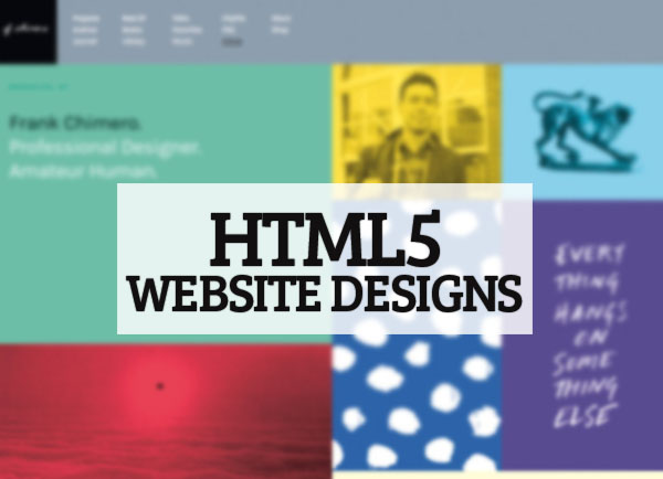 Fantastic HTML5 Website Designs: 25 Inspiring Examples