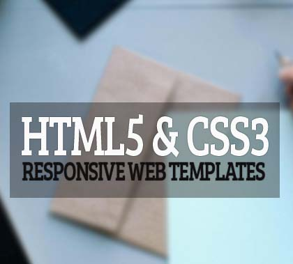 15 Amazing Responsive HTML5 & CSS3 Web Templates for Designers