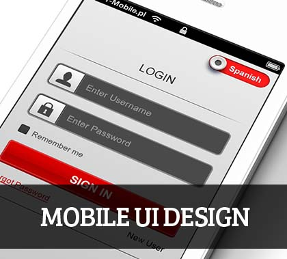Mobile UI design for Inspiration – 44