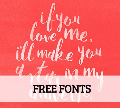 Post thumbnail of 15+ Colorful Stylish free Fonts for Designers