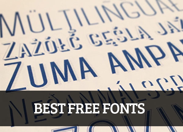 15 Best Free Fonts For Professional Designers