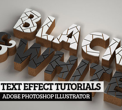 Post thumbnail of 20 Amazing 2D,3D Text Effect Adobe Illustrator Tutorials