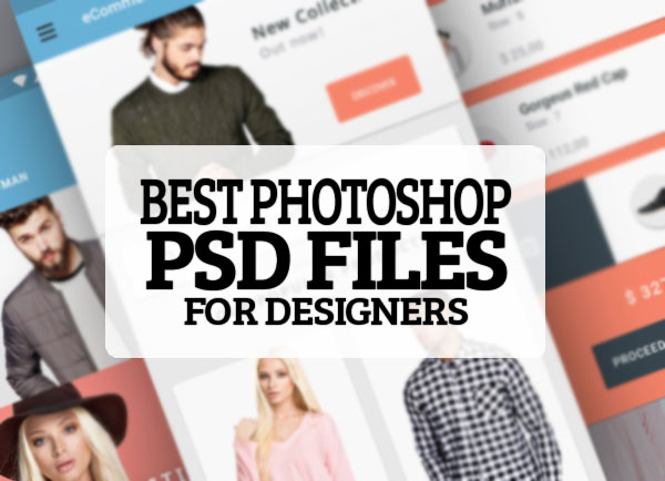 25 Best Photoshop PSD Files for Designers - free Download