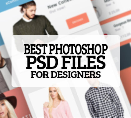 25 Best Photoshop PSD Files for Designers – free Download