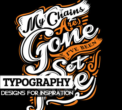 26 Remarkable Lettering,Typography Designs for Inspiration