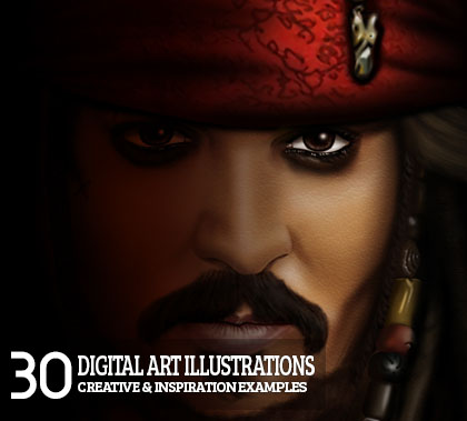 30 Fresh Digital Art Illustrations Art for Inspiration