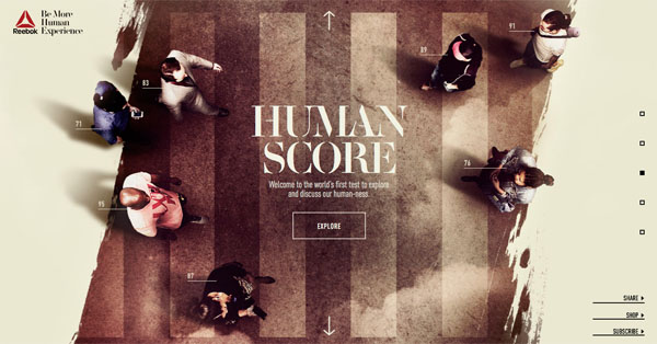 Reebok: Be More Human Experience