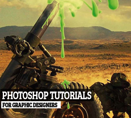 20 Best Photoshop Illustration Tutorials for  Designers