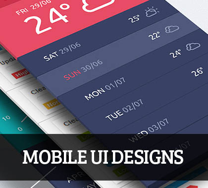 Web & Mobile UI UX  Designs for Inspiration – 61