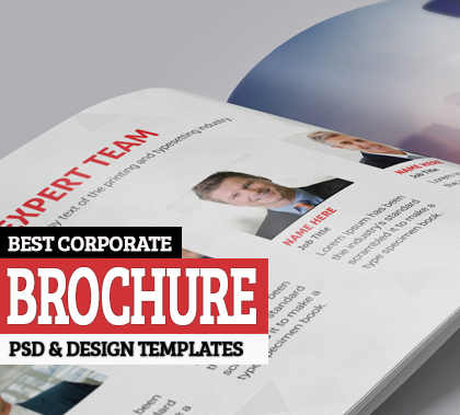 15 Best Corporate Brochure Design Templates