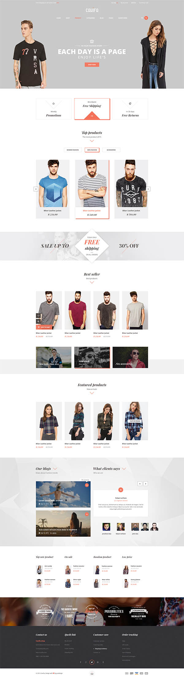 Canifa – The Fashion WooCommerce WordPress Theme