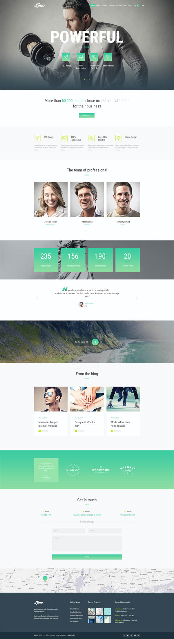 Limo – Multipurpose WordPress Theme