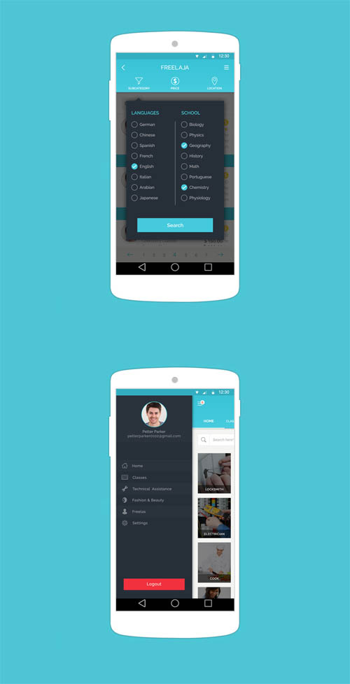 web  u0026 mobile ui ux designs for inspiration  u2013 65