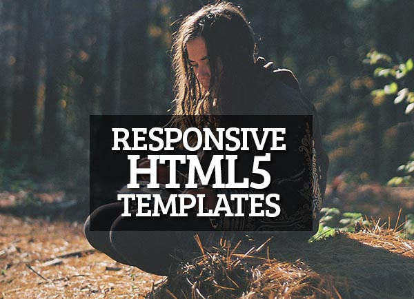 12 Best Responsive HTML5 Templates for Designer