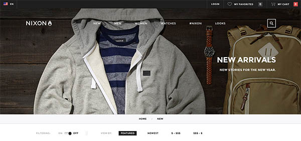 Nixon eCommerce Platform By BASIC