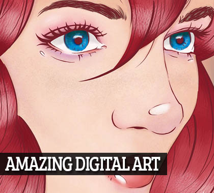 15 Amazing Digital Art & Illustration for Designer