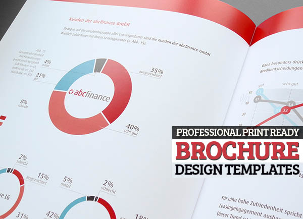 15 Professional Print Ready Brochure Design Templates