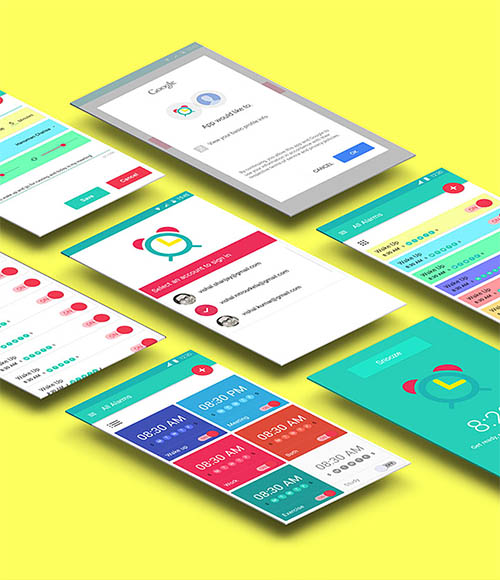 Lollipop Material Design Android By Vishal Sharijay