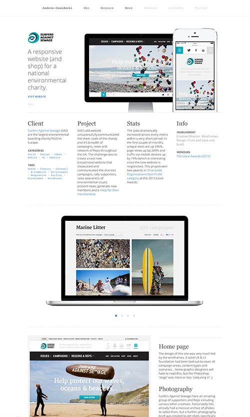 Andrew Couldwell's Portfolio By Andrew Couldwell