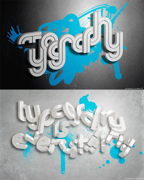 Typography is everything By Simon C Page