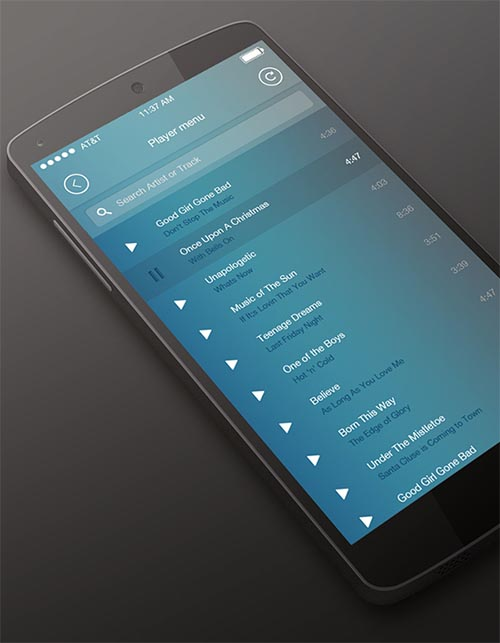 Music Player Android Application