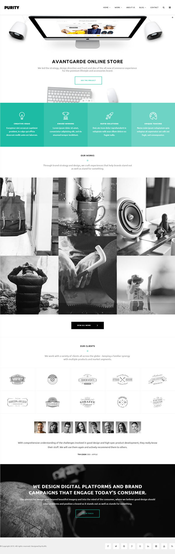Purity - Responsive Multi-Purpose HTML Template
