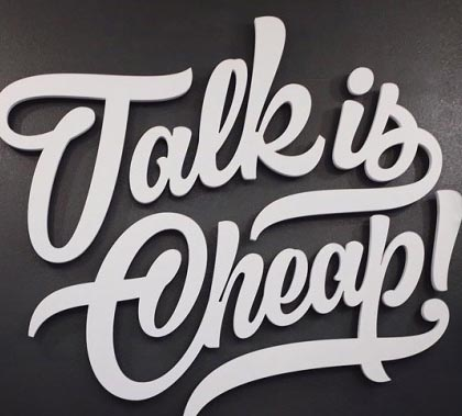 Typography Designs – 15 Awesome Typography for Inspiration