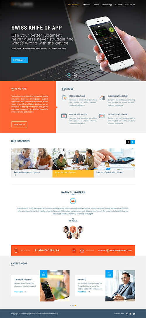 Company Website Redesign By ASK Designs