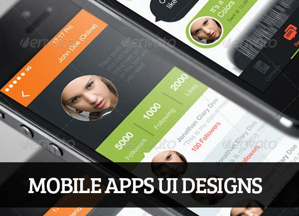Mobile Apps UI Designs for Inspiration – 80