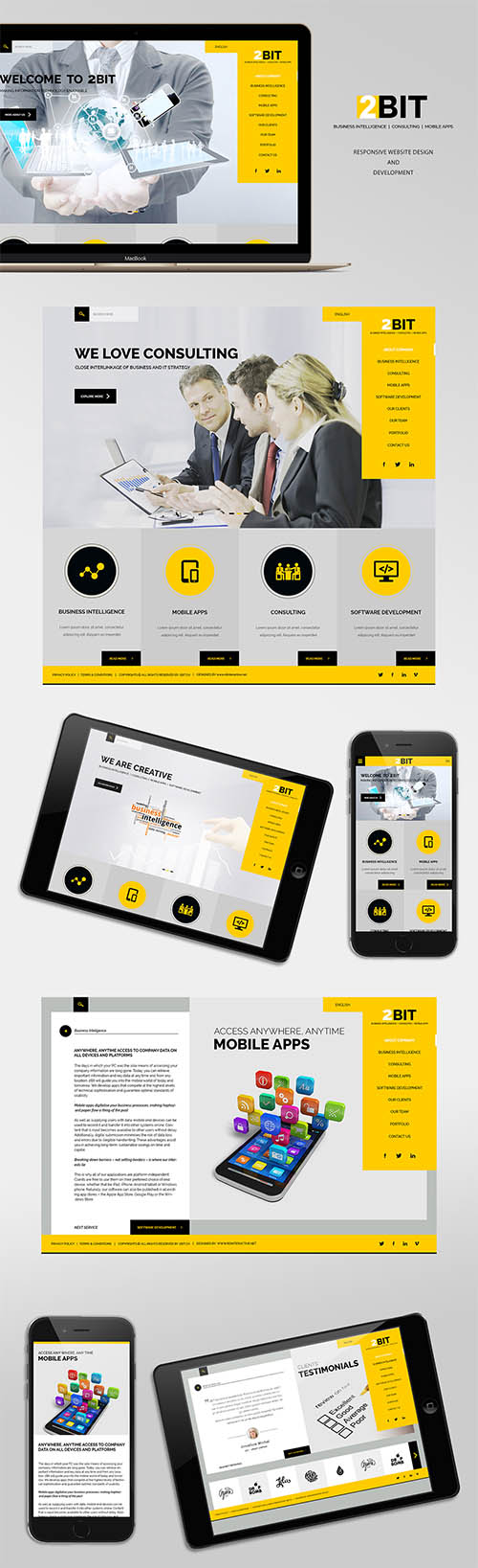 2BIT Website Design and WordPress Development By Muhammad Tausee