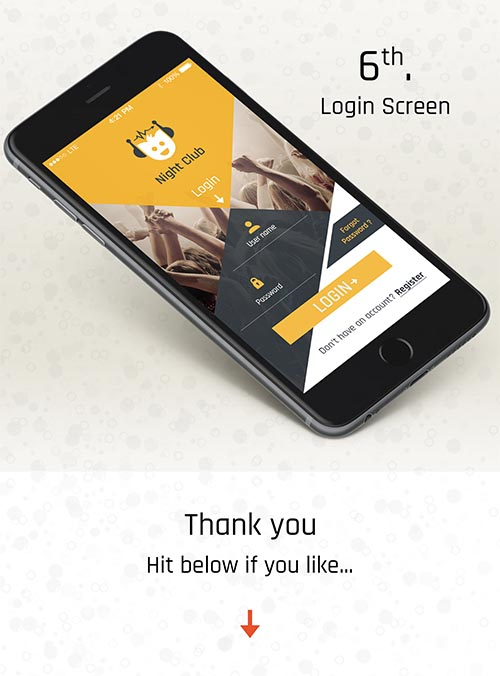 5+ Logins iOS Mobile APP UI &UX Inspiration Interface. By Nelli Ramu