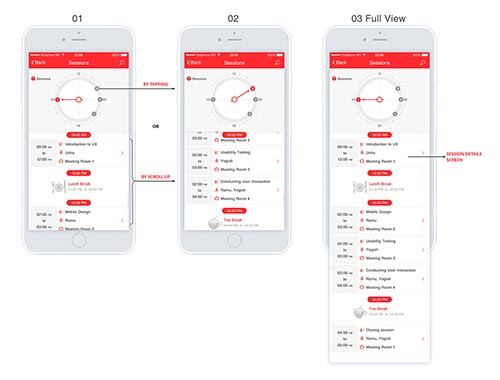 iOS Mobile APP-UI & UX Inspiration Interface Designs. By Nelli Ramu